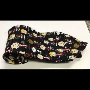 Peanuts Design Men's Necktie 100% Silk